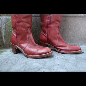 'Frye' Leather Campus Boot Size 6